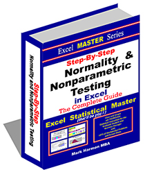 Excel Instructions For All Major Normality and Nonparametric Tests in Excel