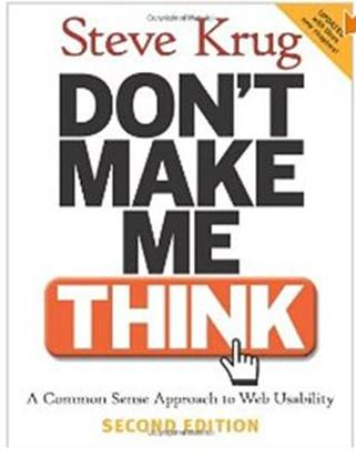Click Here To Buy Don't Make Me Think by Steven Krug