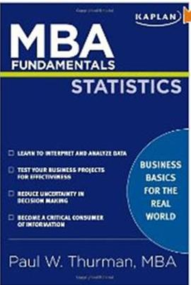 Click Herer To Buy MBA Fundamentals Statistics by Paul Thurman