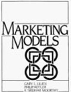Click Here To Buy Marketing Models by Philip Kotler, Gary L. Lilien, and K. Sridhar Moorthy