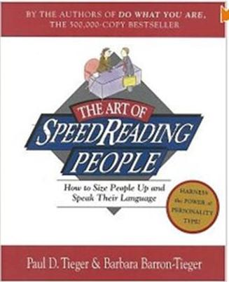 Click Here To Buy The Art of SpeedReading People: How to Size People Up and Speak Their Language